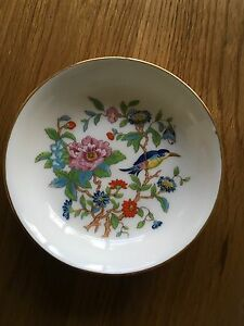 Fine-English-Bone-China-Trinket-Dish-Made-By-Aynsley-Reproduction