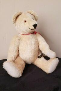 """RARE VTG Johanna Haida German Mohair Bear """"Peter Bim"""" 1994"""