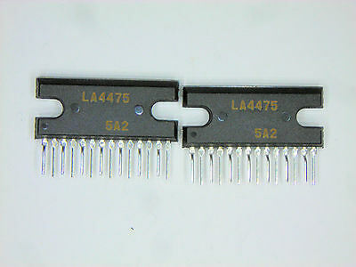 SANYO 14P Zip IC 2 pcs LA4475