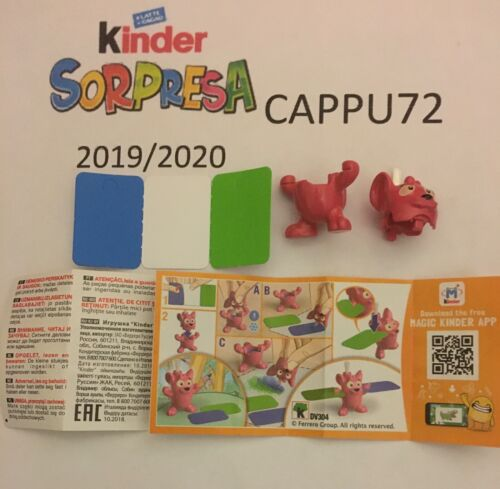 Kinder Surprise 2019//20-SCEGLI Your Character Mixart