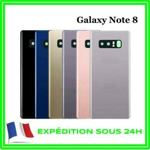 VITRE-FACADE-ARRIERE-CACHE-BATTERIE-SAMSUNG-NOTE-8-LOGO-ADHESIF
