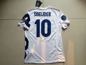 detailed look b57ed 93d70 Details about INTER MILAN 2010-10 AWAY DRAGON RETRO SHIRT, SNEIJDER,  ZANETTI, Sizes S M L XL