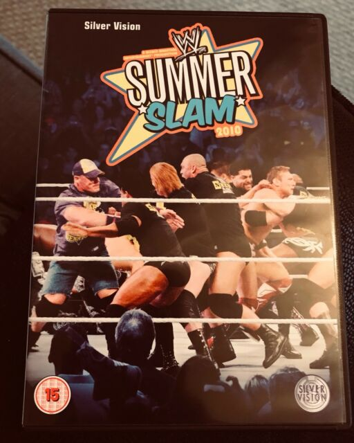 WWE Summerslam 2010 (DVD, 2010)
