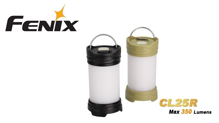 New Fenix CL25R White and  Red LED Camping Lantern Light ( Green ) NO battery  quality product