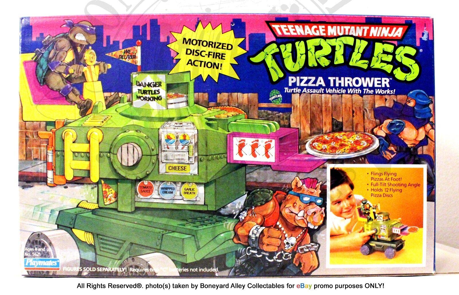 Tmnt Original 2018 Pizza lanzador vehículo, Playmates Playmates Playmates Y En Caja Sellada  Mega Raro  Nuevo cf5b28