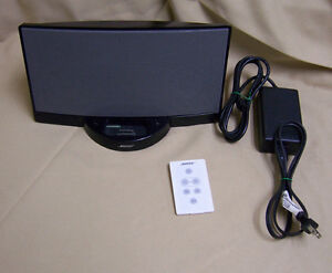 Details about Bose SoundDock 9-Pin ipod speaker system with Remote and  Power Supply