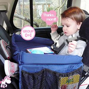 Baby Child Rainproof Stroller Desk Holder Kids Snack Play Car Seat Travel Tray