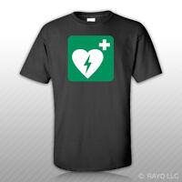Defibrillator T-shirt Tee Shirt Free Sticker Cardiac