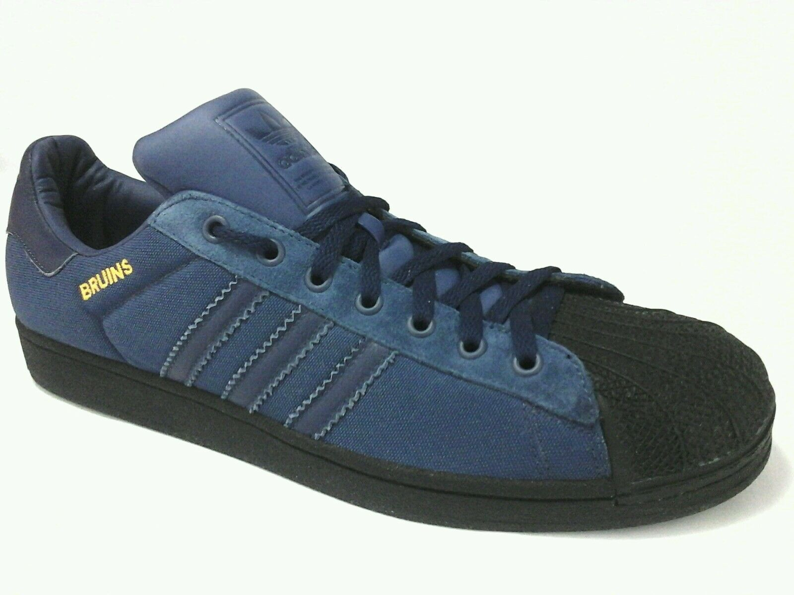 ADIDAS shoes UCLA Bruins Gameday Superstar Sneakers bluee Shell Toe Men's US 15