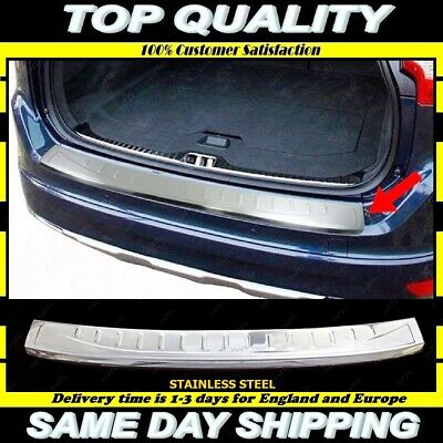 XC-60 FACELIFT Stainless Steel Chrome Rear Bumper Protector Scratch Guard