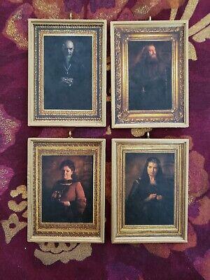4 Handmade Harry Potter Hogwarts Four Founders Christmas Ornaments