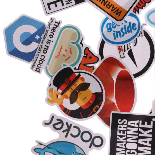 30X Internet Bitcoin Java JS Docker Programmer Cloud Program Language Sticker WD