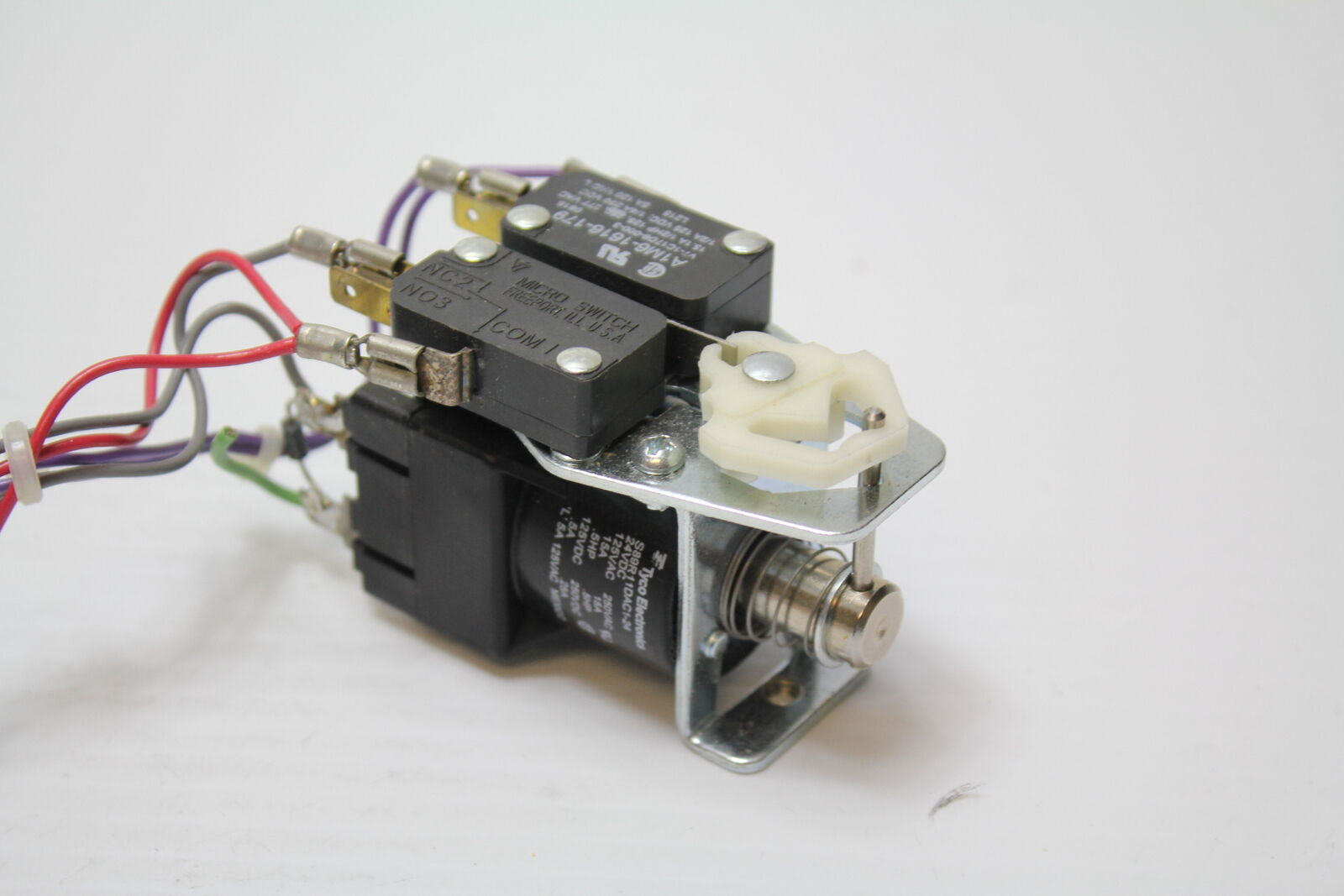 Laser Entfernungsmesser Oem : Tyco electronis 24v power relay 24 vdc 15 a used s89r11dac1