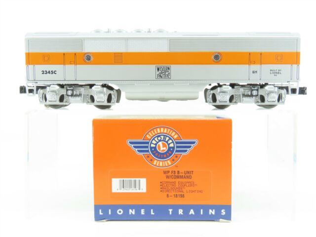 O Gauge 3-Rail Lionel 6-18198 WP Western Pacific F3B Diesel Dummy #2345C w/ TMCC