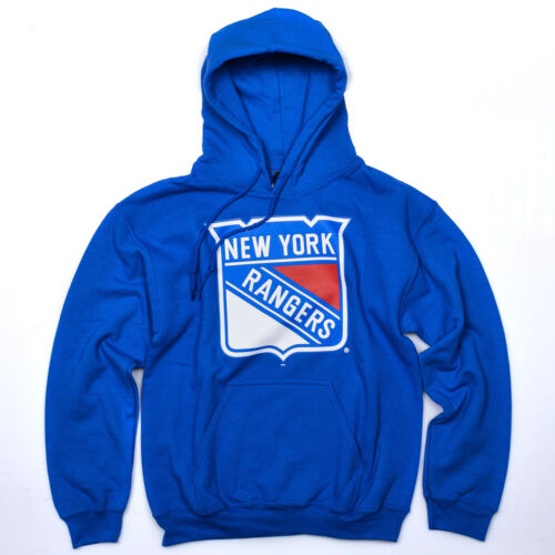 Majestic New York Rangers Bember Logo Hoody men blue red white MNR2446BC