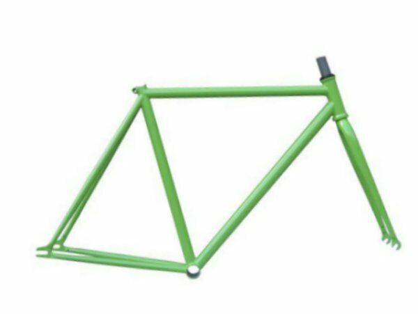 Nuevo Focale 44 Fixie Trake Marco Y Tenedor Kit 52 cm verde Manzana