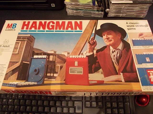 MB GAMES ORIGINAL HANGMAN GAME