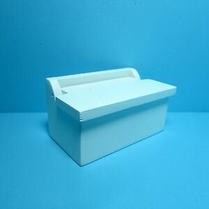 Dollhouse Miniature Small Toy Box in White ~ D479
