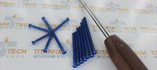 4mm Cancellous Screws Full Thread Titanium Screws 200 Pcs From 10mm To 70mm