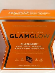 GLAMGLOW-FLASHMUD-Brightening-Treatment-Mask-50g-Paraben-Free-NEW-IN-SEALED-BOX