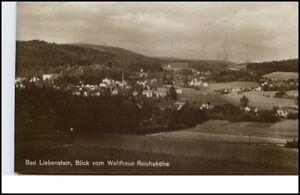 Bad-Liebenstein-Thueringen-AK-1935-40-Blick-vom-Waldhaus-Reichshoehe-ungelaufen