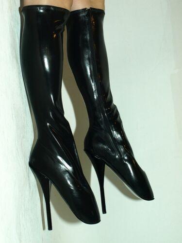 noir taille caoutchouc ' talons Pologne 5 rouge ou en 8 10 16 latex Ballerines Producteur n6Yw7tx5z7