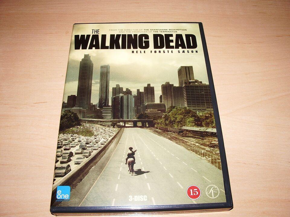 The walking dead, DVD, drama