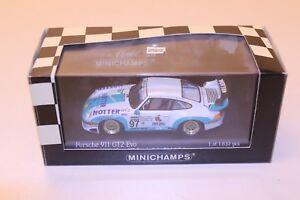 Minichamps-Porsche-993-911-GT2-Evo-Daytona-24hrs-1998-1-43-1-1632-un-de-Konrad