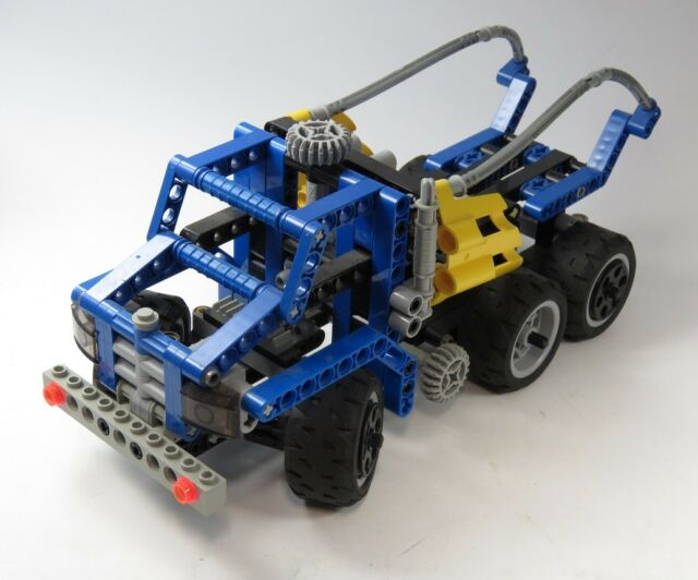 Lego Technic Vehicle Go Kart Racer Buggy Yellow Car Speedster 2 Pcs
