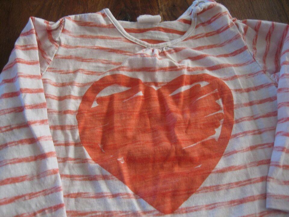 Bluse, Tshirts med lange ærmer, str. 80