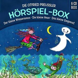 DIE-OTTFRIED-PREUssLER-HORSPIELBOX-KLEINE-WASSERMANN-HEXE-GESPENST-6-CD-NEU
