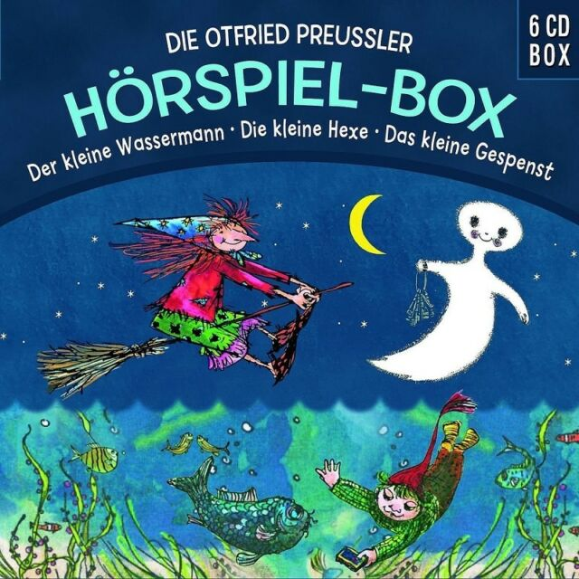 DIE OTTFRIED PREUßLER-HÖRSPIELBOX: KLEINE WASSERMANN / HEXE / GESPENST 6 CD NEU