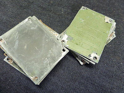 CONSOLIDATED VULTEE T-29-D AIRCRAFT AVIATION DATA TAG RAT ROD BOBBER 1 UNIT