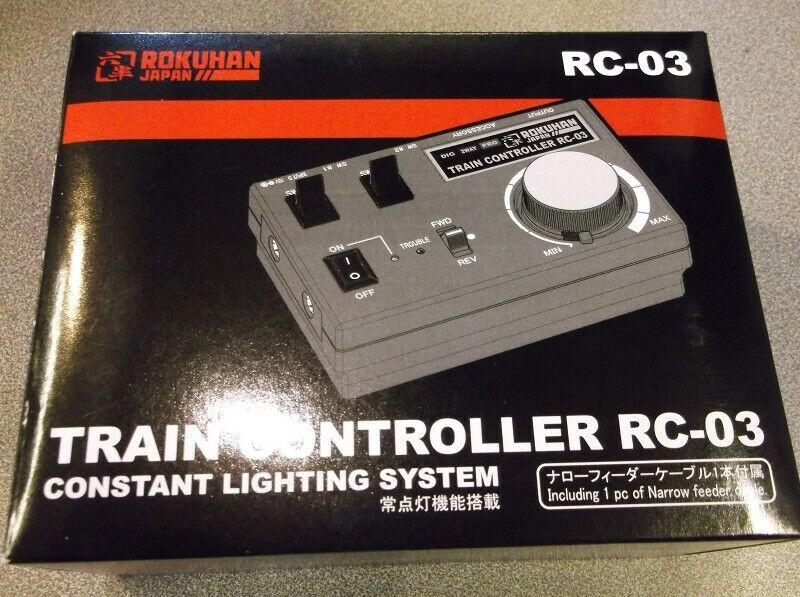 diseño simple y generoso Rokuhan rc03 confort de conducción regulador RC RC RC 03  calidad de primera clase