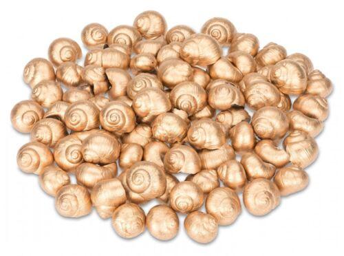 NaDeco® Weinbergschnecken gold 250gCornu aspersumSchneckenhäuserDeko Sc