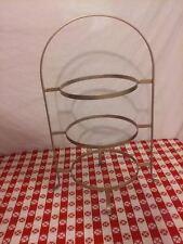 NICE Vintage Metal 3-TIER Pie, Cake or Plate Rack Display