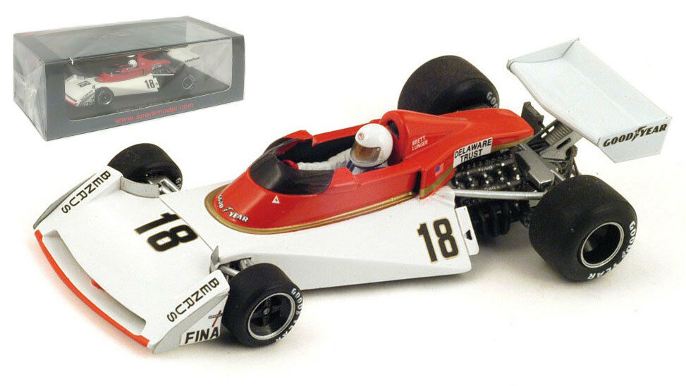 Spark s4007 surtees ts19   18 British GP 1976-Brett LUNGER, échelle 1 43,