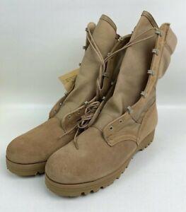 Belleville-DST-US-Army-Men-039-s-Hot-Weather-Combat-Boots-Desert-Tan-11-0-R