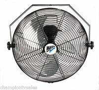 Ventamatic Maxxair 18 Wall Mounted Steel Heavy D Fan Hvwm18 Made In Usa 162086