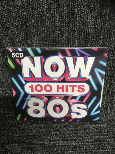 NOW 100 HITS 80'S [5 CD] - NEW & SEALED Queen The Jam Wham. Freepost In Uk