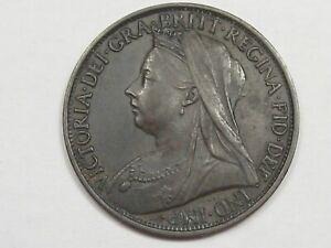 High-Grade-1898-Great-Britain-Penny-KM-790-1