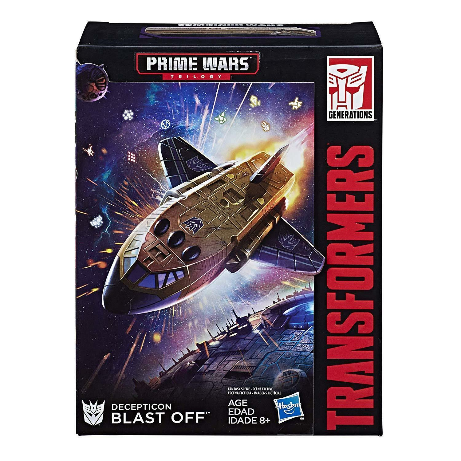 Transformers Exclusive Power of the Primes Deluxe Blast Off Brand New