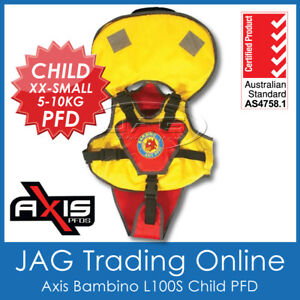AXIS-BAMBINO-CHILD-XXS-5-10KG-L100S-PFD-LIFE-JACKET-Baby-Infant-Toddler-Vest