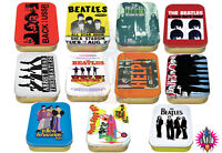 THE BEATLES VARIOUS MIXED COLLECTORS TOBACCO KEEPSAKE TIN TINS NEW & OFFICIAL
