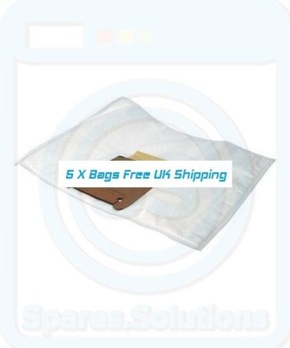 Vacuum Cleaner Dust Bags for Bosch BS2 BS5 BS55 G Pack Of 5 GXL Type