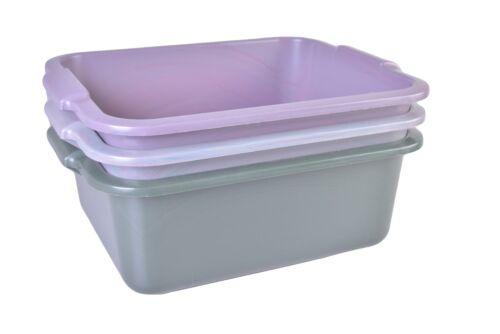 metakreon Schüssel 11 L Recycling mit Griff eckig Allzweckschüssel Spülschüssel