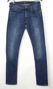 Lee Hommes Slim Jambe Droite Jeans Extensible Taille W30 L34 AVZ1499