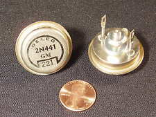 Tested & Guaranteed! Qty 2: 2N441 Germanium Power Transistor Delco GM NOS Xlnt