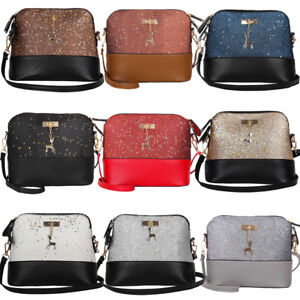 Image is loading Women-Ladies-Crossbody-Leather-Shoulder-Bag-Tote-Purse- 57a3ef1d0b7bb