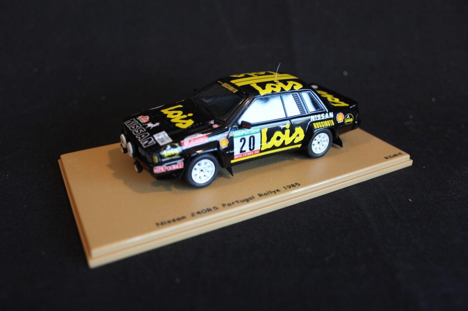 Bizarre Nissan 240RS 1985 1 43 Santinho Mendes   Cunha Rally Portugal